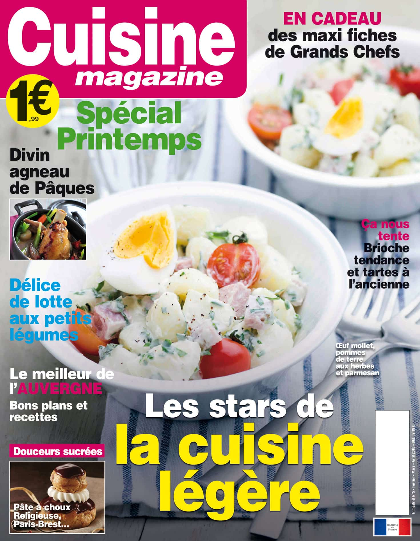 Cuisine Magazine N 05 Lafont Presse
